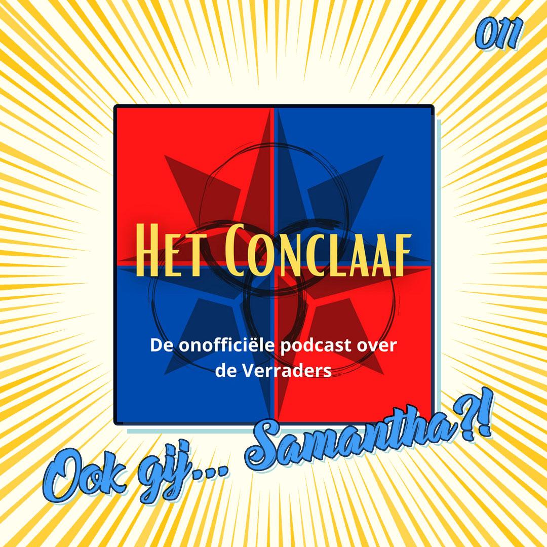 Het Conclaaf – De Verraders podcast