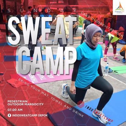 Indo Sweat Camp Depok di Margo City Depok Minggu