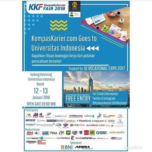 KompasKarier.com Goes to Universitas Indonesia