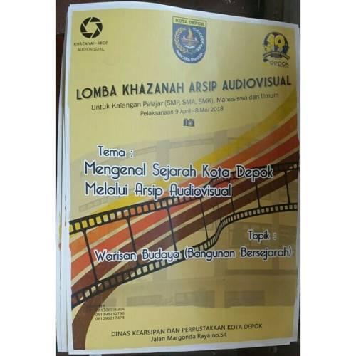 Lomba Khazanah Arsip Audio Visual 2018