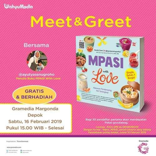 Meet and Greet Bunda Zami di Gramedia Depok 16 Feb 2019