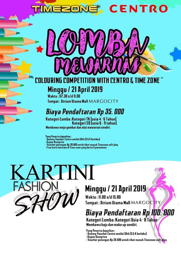 Lomba Mewarnai & Fashion Show