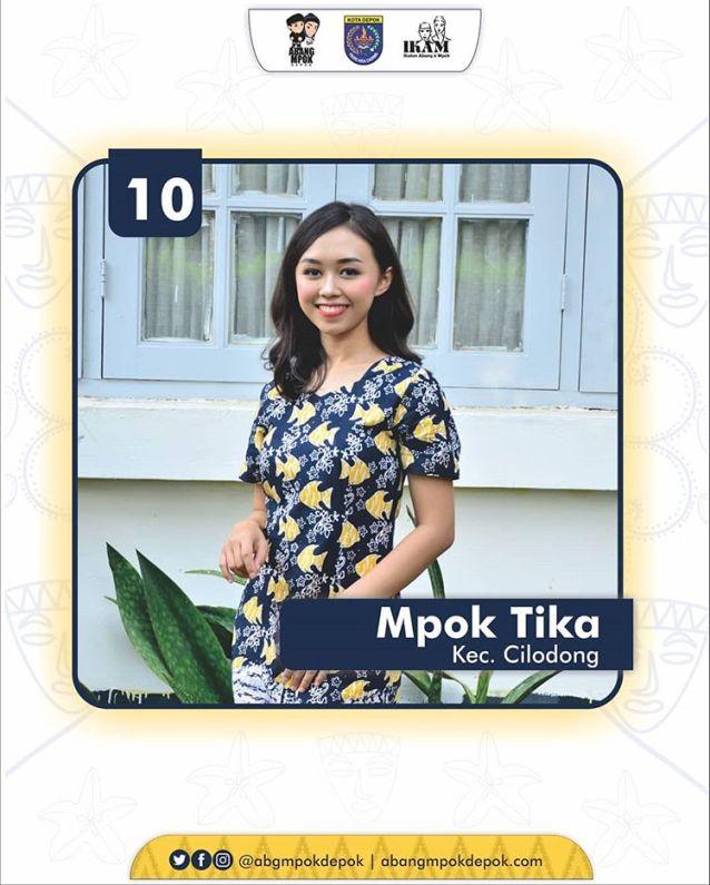 10 Finalis Mpok Depok 2019 Thanniza Atika Faurie