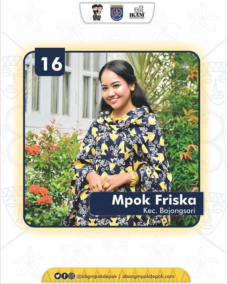 16 Finalis Mpok Depok 2019 Friska Audia Ersitamara