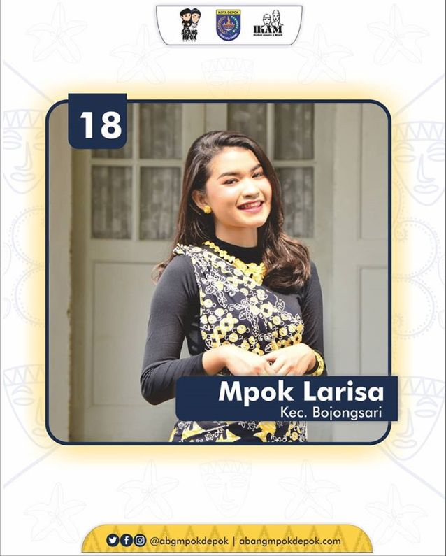 18 Finalis Mpok Depok 2019 Larisa Indriani Putri