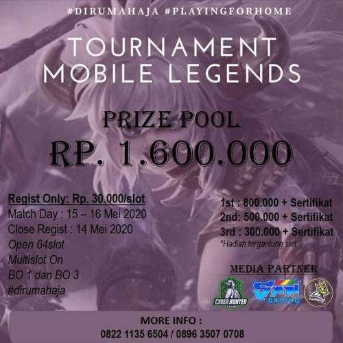 Tournament Mobile Legends Kings Tourney Mei 2020