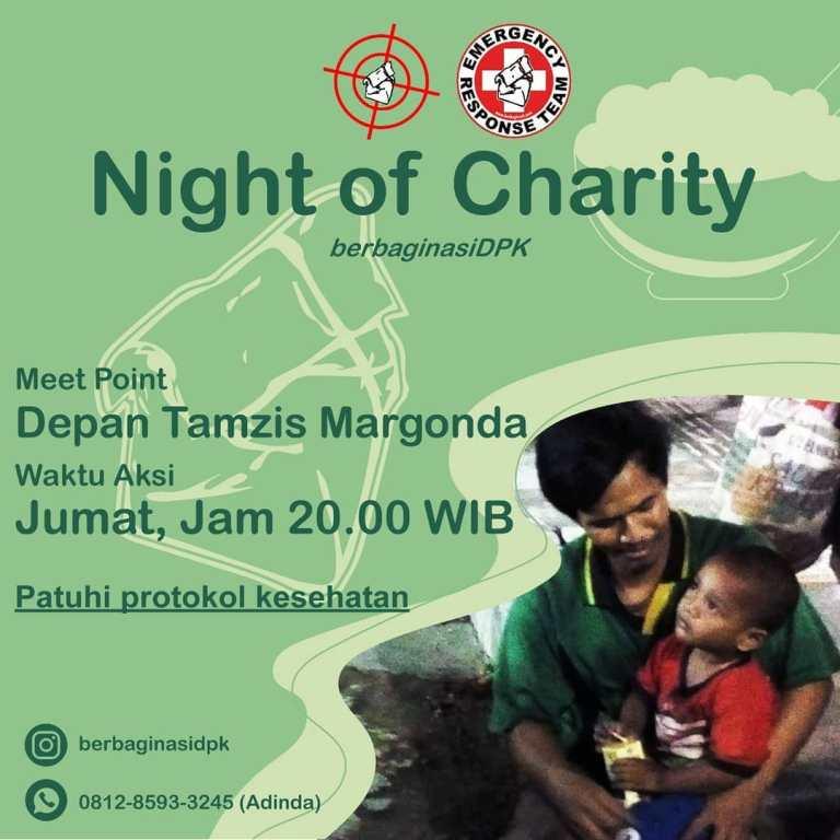Berbagi Nasi Depok Night of Charity