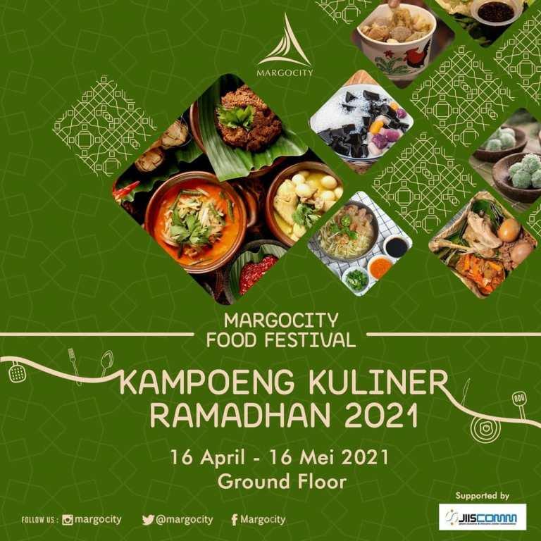 Kampoeng Kuliner Ramadan di Margo City Depok 2021