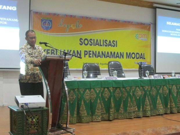 Sekda Kota Depok Harry Prihanto.