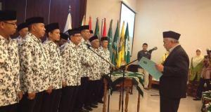 Inilah pengurus Dewan Pimpinan Muhammadiyah Kota Depok yang baru.