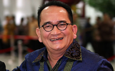 Ruhut Sitompul kini tidak lagi sebagai juru bicara Partai Demokrat.
