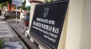 Kantor Kecamatan Pancoran Mas.