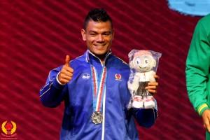Zainal Abidin, atlet Binaraga Depok