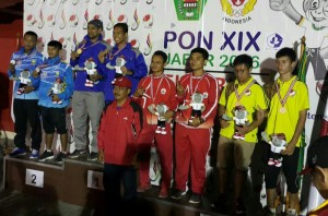 Dua atlet pentaque asal Depok berhasil menyumbang medali emas dan perunggu untuk kontingan Jabar pada PON XIX di Jabar.