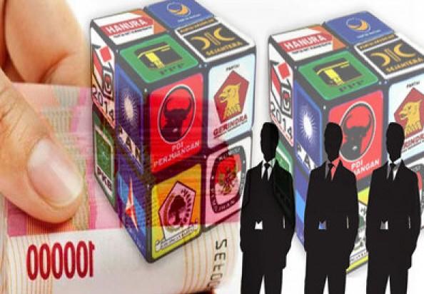 Pemkot Depok mencairkan dana bantuan untuk 10 partai politik.