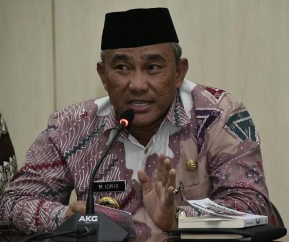 Walikota Depok, Mohammad Idris.