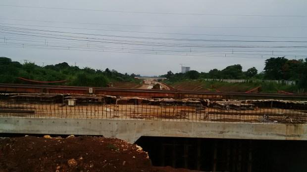 Pembangunan Jalan Tol Cijago sampai Kukusan diperkirakan selesai akhir tahun 2017.