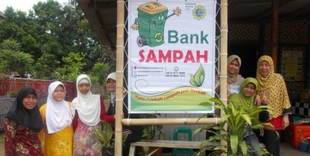 Salah satu bank sampah.
