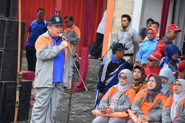 Ketua Panita POR Pemkot Depok Agus Suherman.