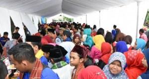 Dalam rangka HUT Kota Depok ke 18, disiapkan 4.000 porsi makanan gratis.