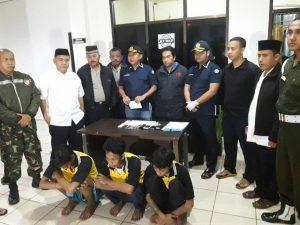 Petugas menemukan paket sabu dari 3 orang narapidana di Rutan Cilodong Kota Depok.