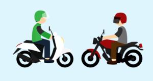 Seorang pengemudi ojek online dibegal tiga pemuda tidak dikenal di Jalan M. Yasin Depok.Ojek online (ilustrasi)