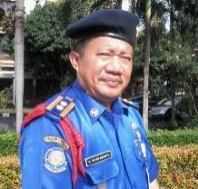 Yayan Ardianto Kepala Dinas Pemadam Kebakaran Kota Depok.