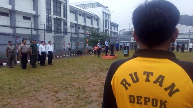Rutan Cilodong, Kota Depok perketat pengawasan.