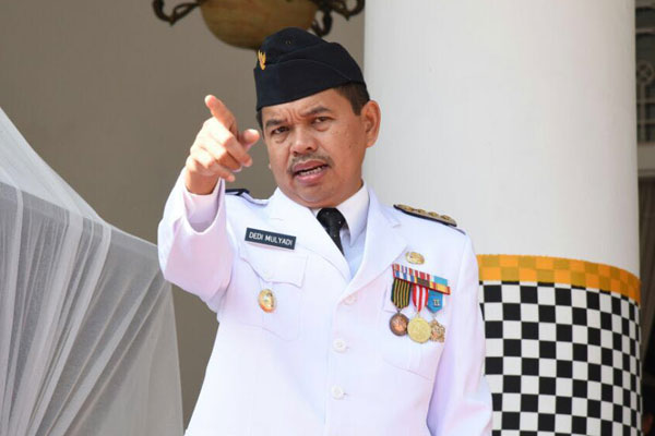 Dedi Mulyadi, Bupati Purwakarta yang juga Calon Gubernur Jawa Barat.