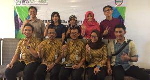 Inilah sebagian tim dari deputi SDM, Umum dan Komunikasi Publik BPJS Kesehatan Divre Jabodetabek.