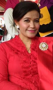 Ketua KPUD Depok Titik Nurhayati.