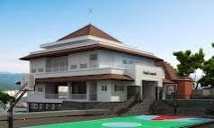 Kantor Kelurahan Rangkapan Jaya Baru.