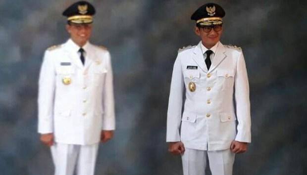 Anies Baswedan dan Sandiaga Uno Senin sore akan dilantik sebagai Gubernur dan Wakil Gubernur DKI Jakarta.