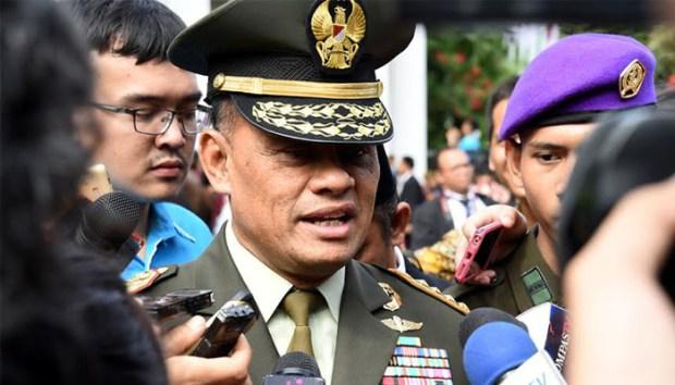 Panglima TNI Gatot Nurmantyo.