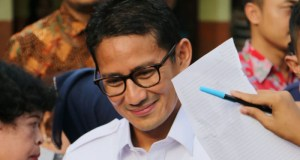 Wagub DKI Jakarta Sandiaga Uno menegaskan menolak reklamasi Teluk Jakarta sudah final.