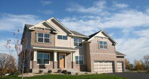 Salah satu rumah yang ditawarkan dengan harga terjangkau.