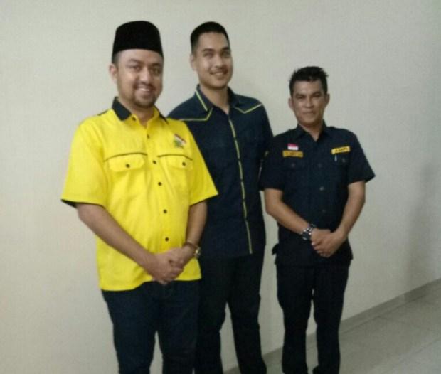 Ketua DPD Partai Golkar Kota Depok bersama Ketua Umum DPP AMPI dan Ketua DPD AMPI Kota Depok