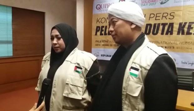 Melly dan Opick bulan depan ke Palestina menghibur pengungsi di Gaza.