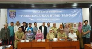 Peserta FGD rencana pembentukan BUMD Pangan Kota Depok