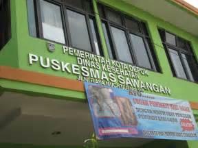 Puskesmas Sawangan.