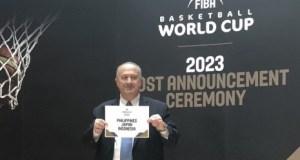 Indonesia. Jepang dan Pilipina dinyatakan sebagai tuan rumah piala dunia basket 2023 yang diumumkan di Swis, Sabtu (9/12/2017).