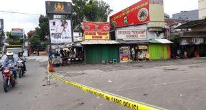 Inilah lokasi penembakan seorang mahasiswa oleh okum anggota Brimob Kepala Dua Depok.