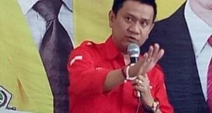 Ketua DPC PDI Perjuangan Kota Depok,  Hendrik Tangke Allo.