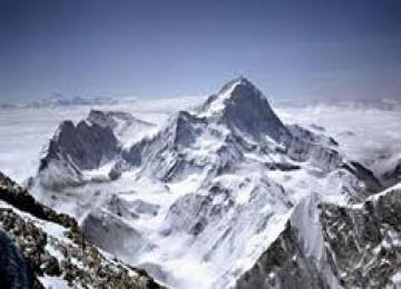 Gunung Vinson Massif yang berhasil ditaklukkan Tim Mapala UI Depok.
