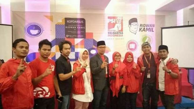 PSI Jawa Barat memberikan dukungan kepada Rindu.