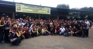 Anggota Forum Komunikasi Sadar Keamanan dan Ketertiban Masyarakat se Kota Depok mengadakan pertemuan bersama Kapolresta Depok.