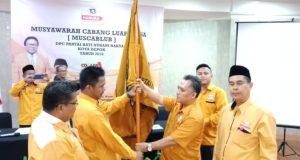 Miftah Sunandar terpilih sebagai Ketua DPC Partai Hanura Kota Depok.