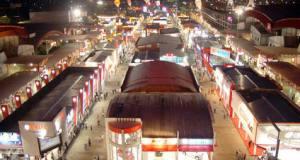 Panitia tidak menaikan target jumlah pengunjung maupun transaksi selama Jakarta Fair Kemayoran 2018.