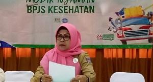 Kepala Dinas Kesehatan Kota Depok,  Lies Karmawati.
