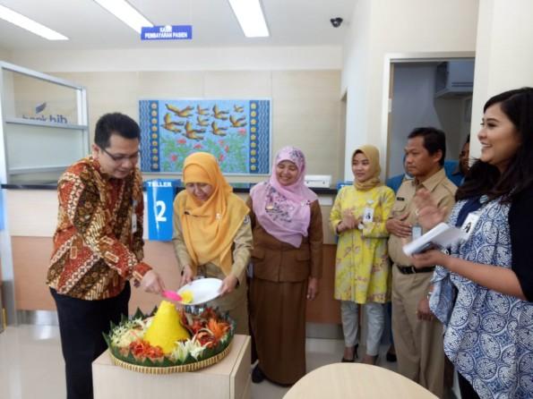Bank BJB membuka kantor kas di RSUD Kota Depok.